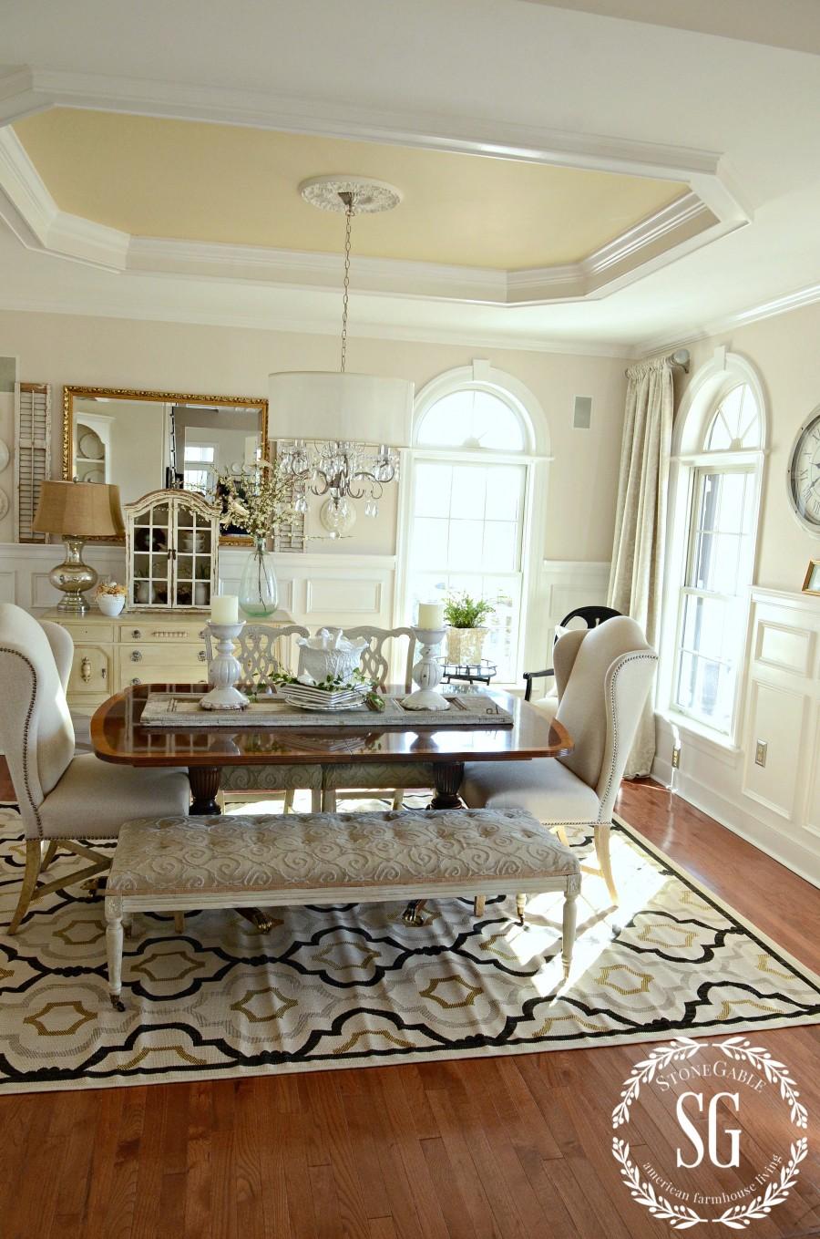 NEW DINING ROOM RUG-updated carpet-stonegableblog.com