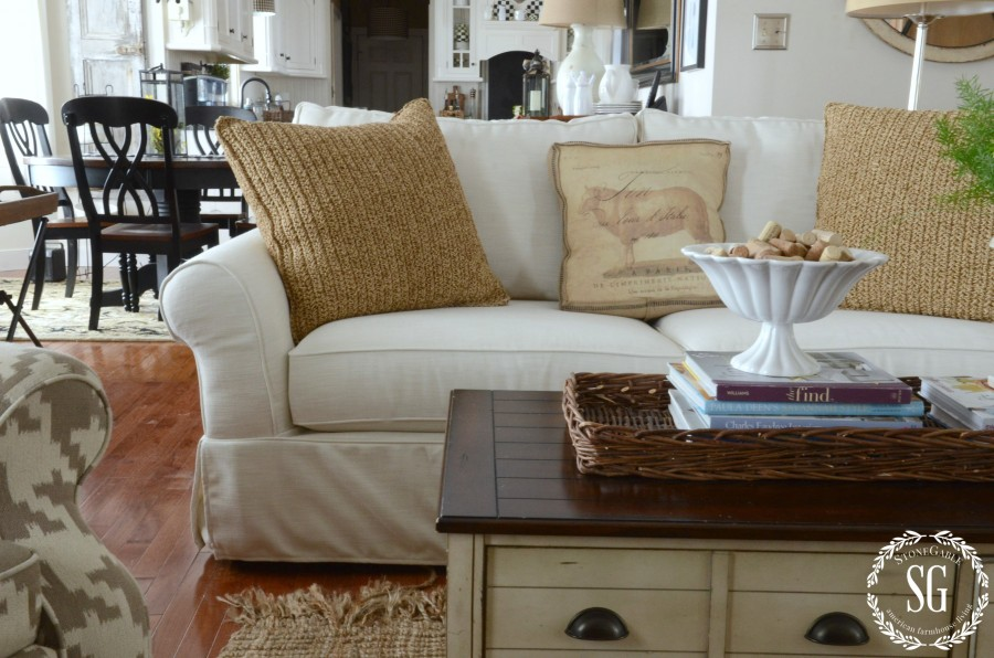 POTTERY BARN SOFA-comfort slipcovered sofa-stonegableblog.com