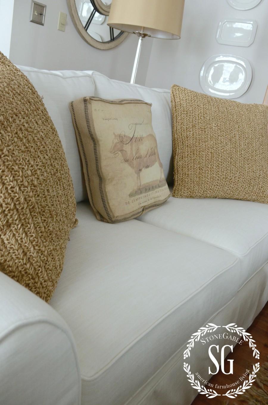 POTTERY BARN SOFA-sofa seat and cushions-stonegableblog.com