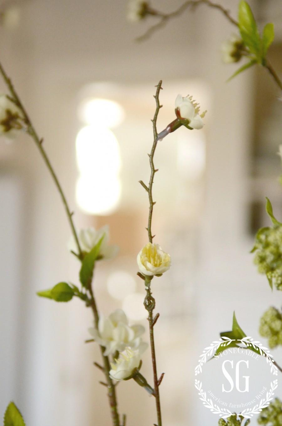 SPRING ISLAND JAR VIGNETTE-little blooms-stonegableblog.com