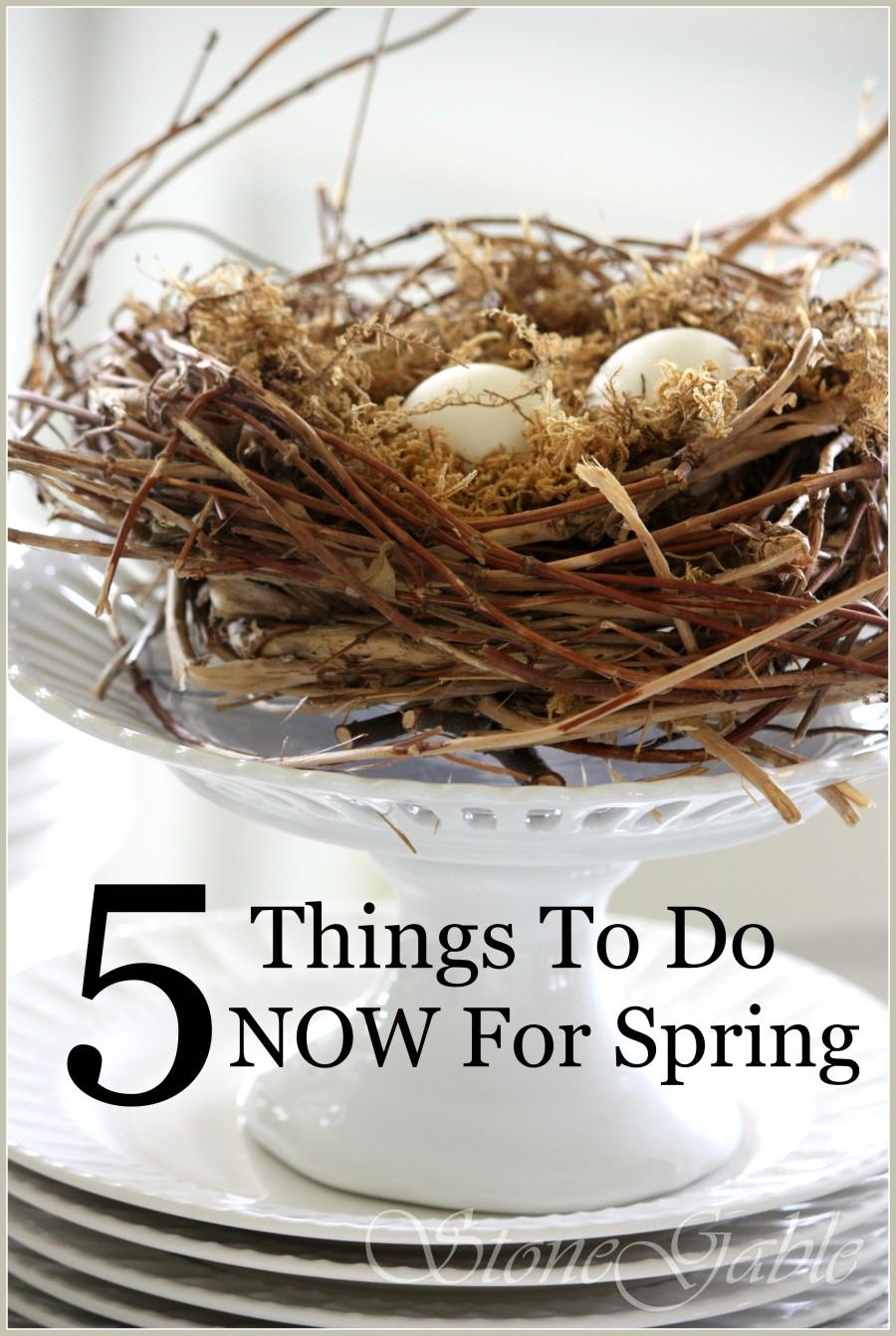 nest on cake plate-stonegableblog.com