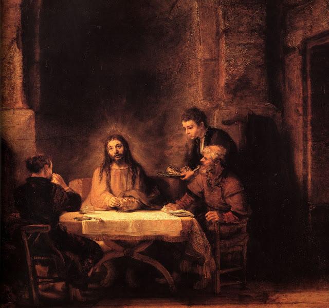 rembrandt+jesus
