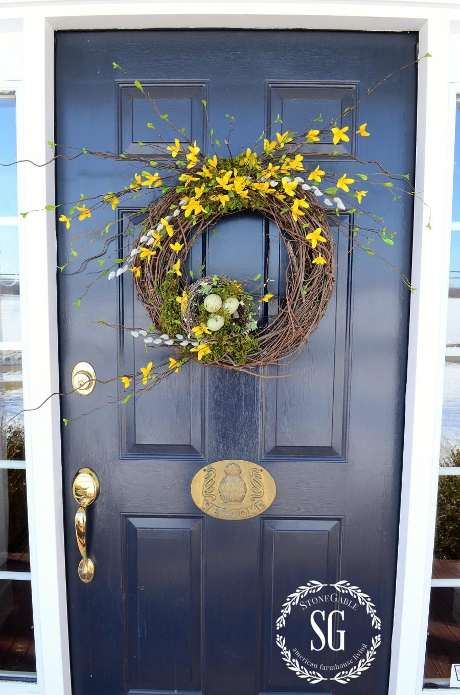 5 QUESTIONS YOU ASKED STONEGABLE-door color-stonegableblog.com