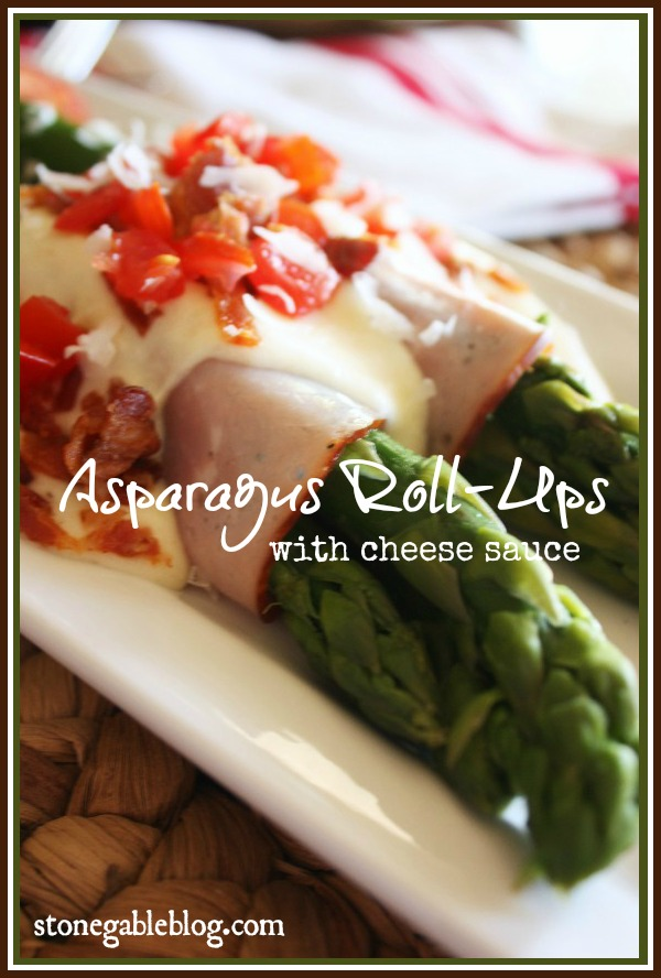 Asparagus Roll Up Title Page