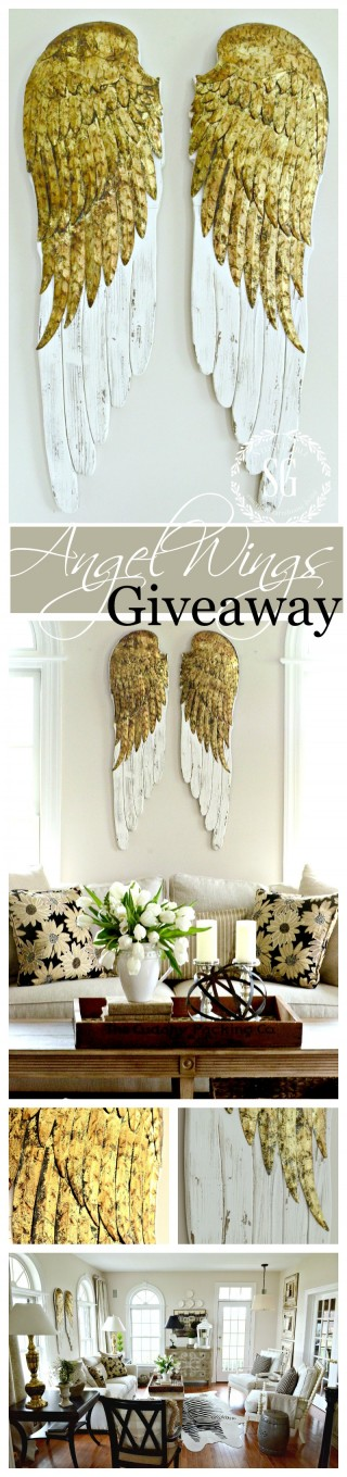 BEAUTIFUL ANGEL WINGS GIVEAWAY- These are amazing-stonegableblog.com