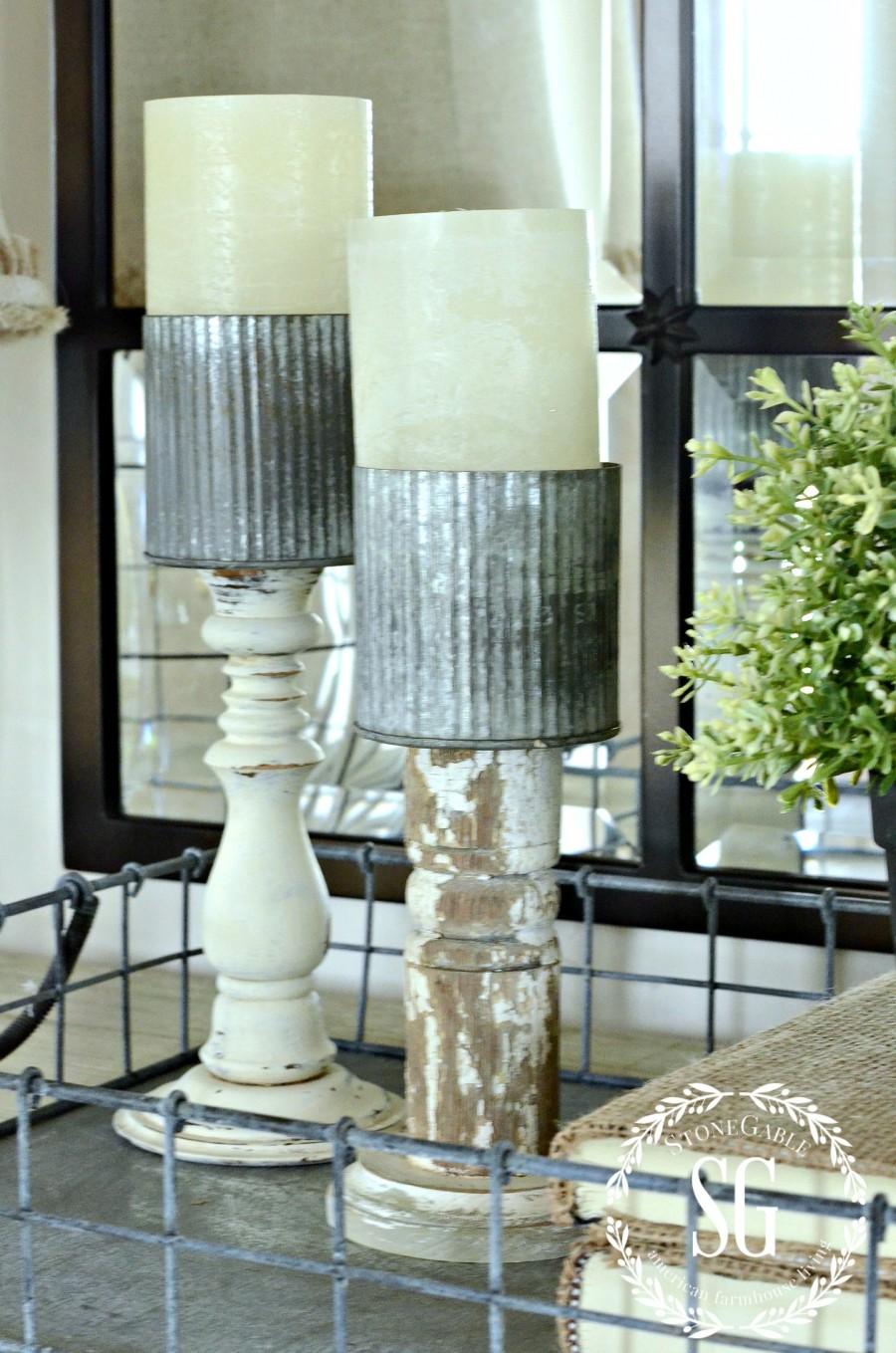 5 INEXPENSIVE WAYS TO REFRESH YOUR LIVING ROOM- Add something trendy-stonegableblog.com