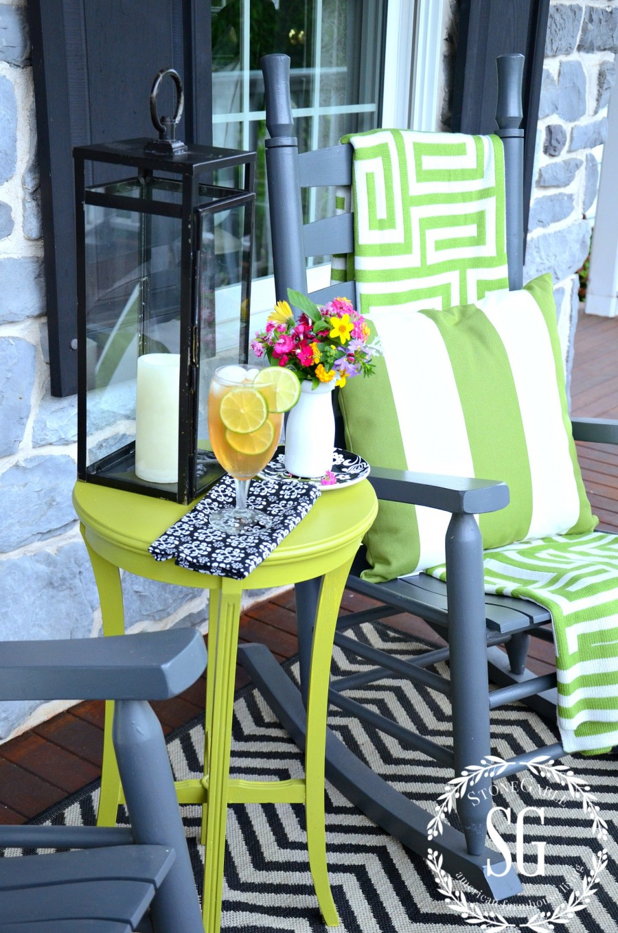 6 ESSENTIALS FOR CREATING AN OUTDOOR SPACE-a cozy outdoor space-stonegableblog.com