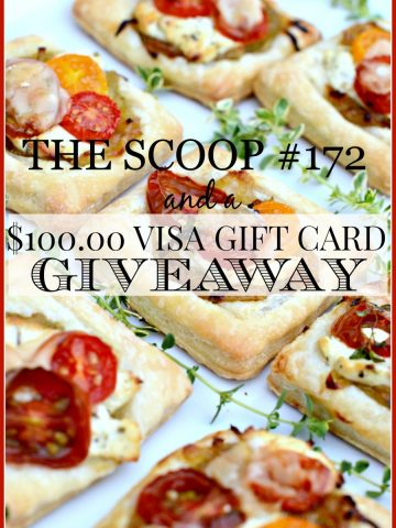 THE SCOOP #172- ENTER TO WIN $100.00 VISA GIFT CARD-stonegableblog.com