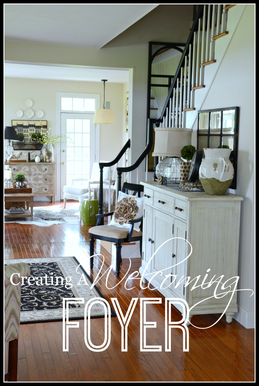 Fabulous Foyer Decorating Ideas: CREATING A WELCOMING FOYER