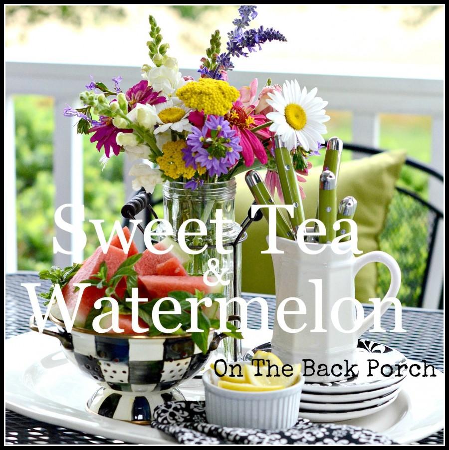 FARMHOUSE BACK PORCH- Create a cozy space on your porch or patio-stonegableblog.com