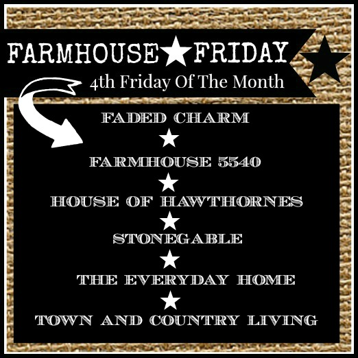 FARMHOUSE FRIDAY-4th Fridays Of Each Month- button