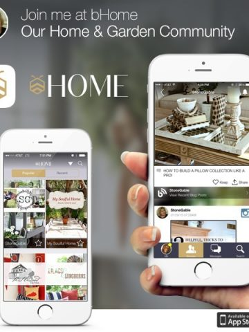BHOME APP-FREE HOME AND GARDEN COMMUNITY-stonegableblog.com