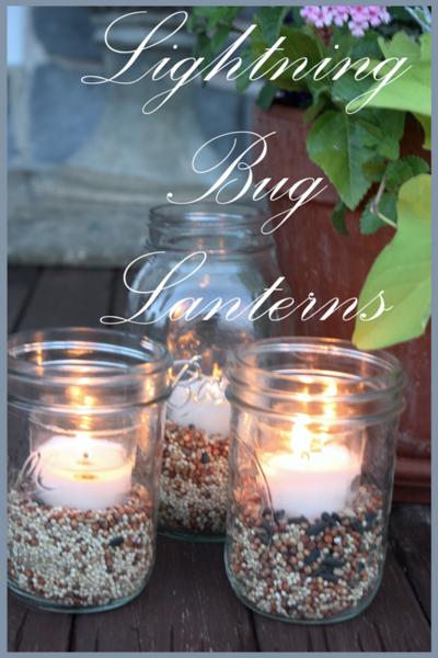 Lightning Bug Lanterns Title Page -BLOG