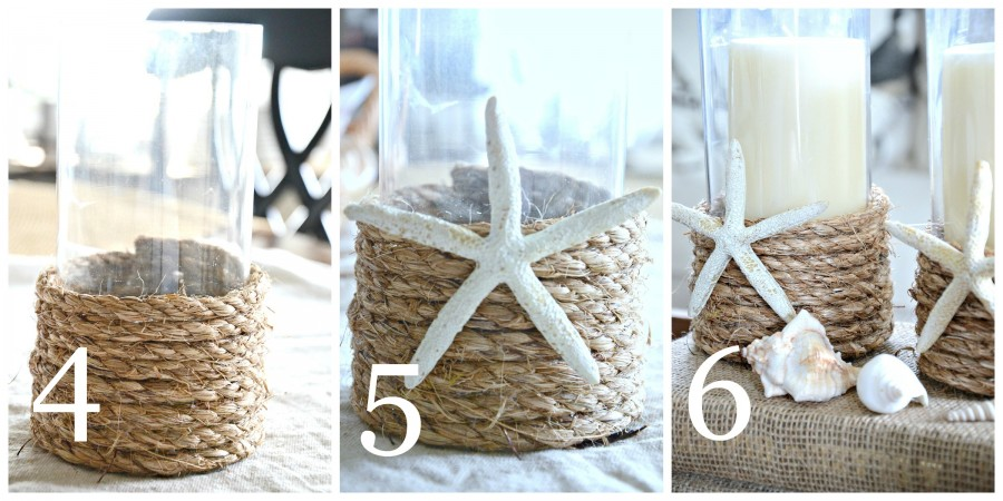 POTTERY BARN INSPIRED ROPE WRAPPED CANDLE HOLDER DIY-instructions 4 to 6-stonegableblog.com