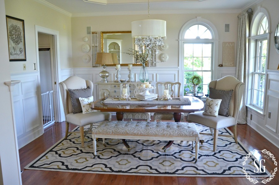SUMMER HOME TOUR-Dining room-stonegableblog.com