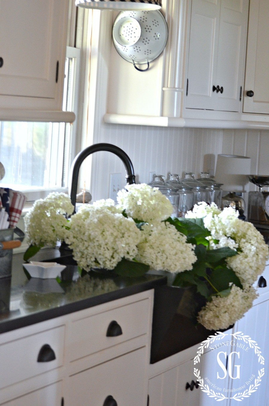 SUMMER HOME TOUR-kitchen-stonegableblog.com