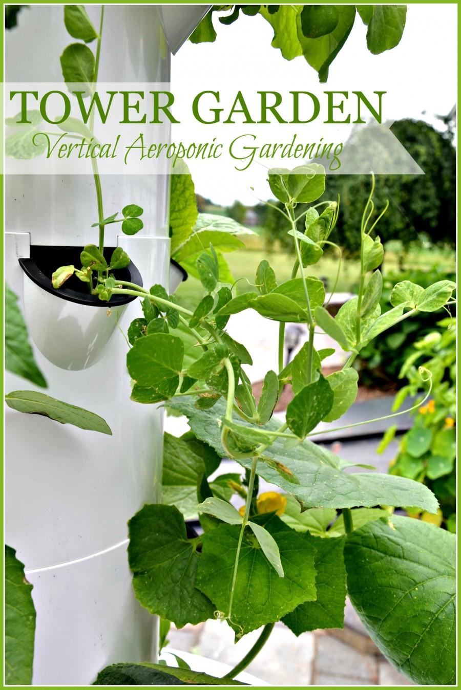 TOWER GARDEN- Aeroponic vertical gardening-stonegableblog.com