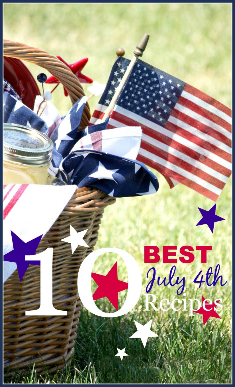 10 BEST JULY 4TH RECIPES- All winning recipes for a fun and yummy July 4th-stonegableblog.com