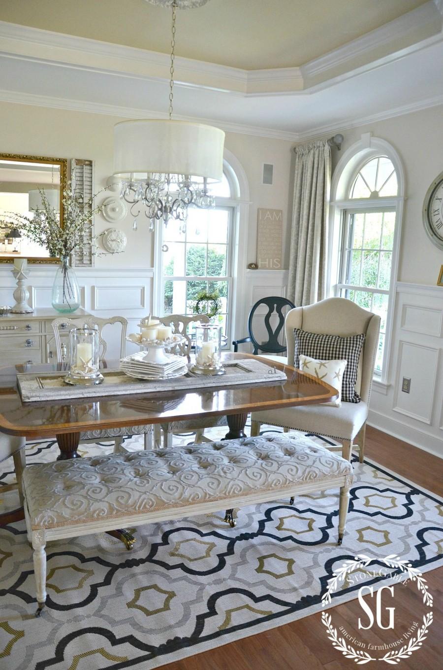 10 tips for decorating on a budget dining room makeover. Black Bedroom Furniture Sets. Home Design Ideas