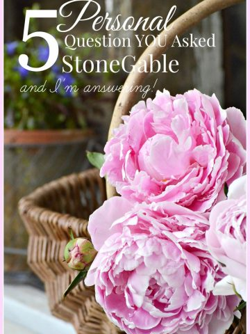 5 PERSONAL QUESTION YOU ASKED STONEGABLE- and I'm answering-stonegableblog.com