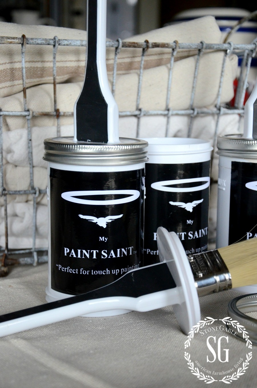 6 MUST HAVE THINGS TO PAINT A ROOM LIKE A PRO-My Paint Saint container-stonegableblog.com