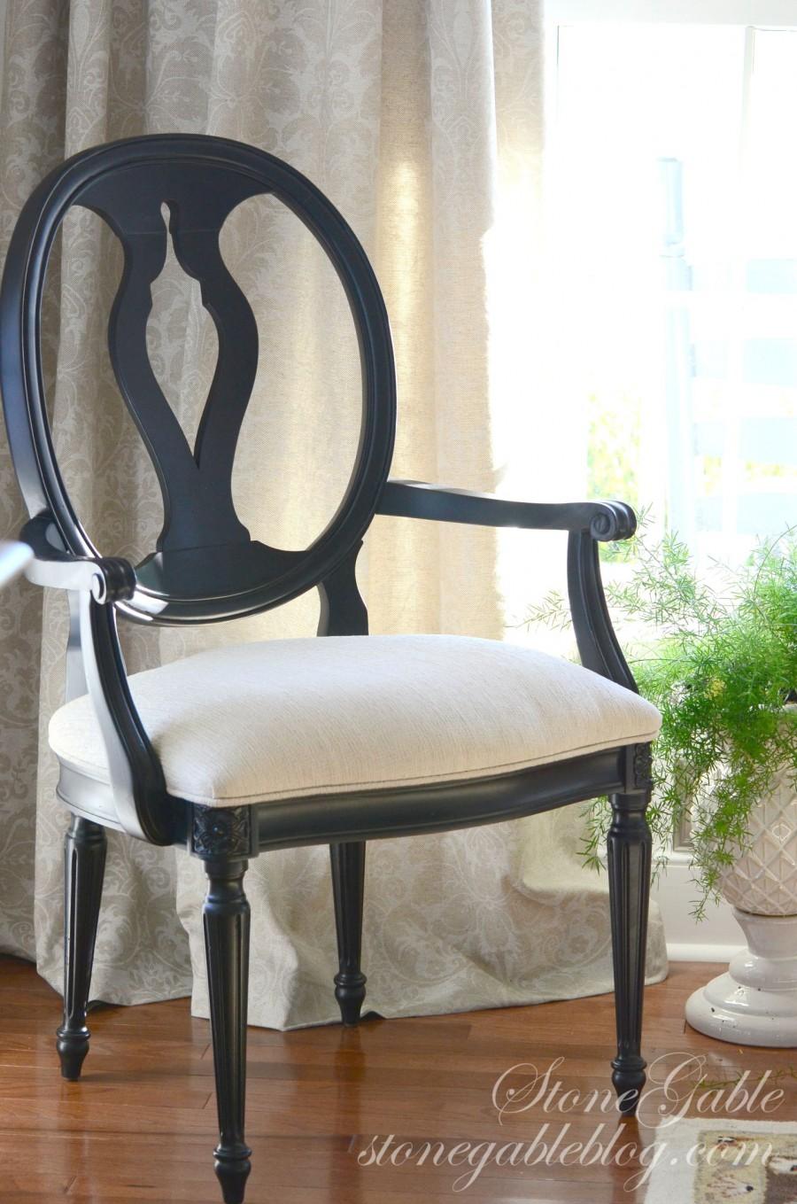 EVOLUTION OF A DINING ROOM-ballet chair-stonegableblog.com