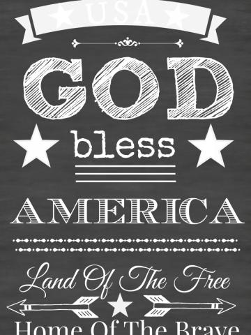 GOD BLESS AMERICA-stonegableblog