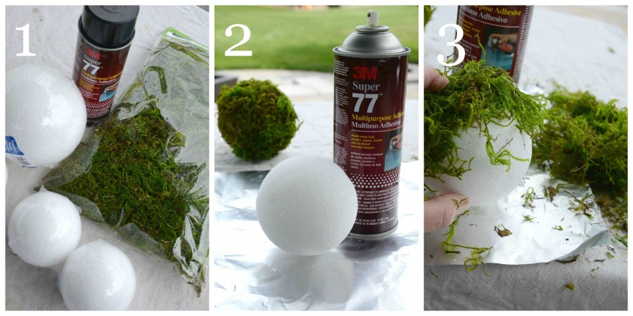 MOSS BALL DIY-instructions 1 to 3-stonegableblog.com