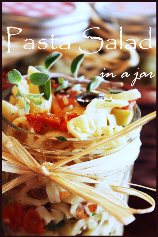 Pasta Salad In A Jar title Page BLOG