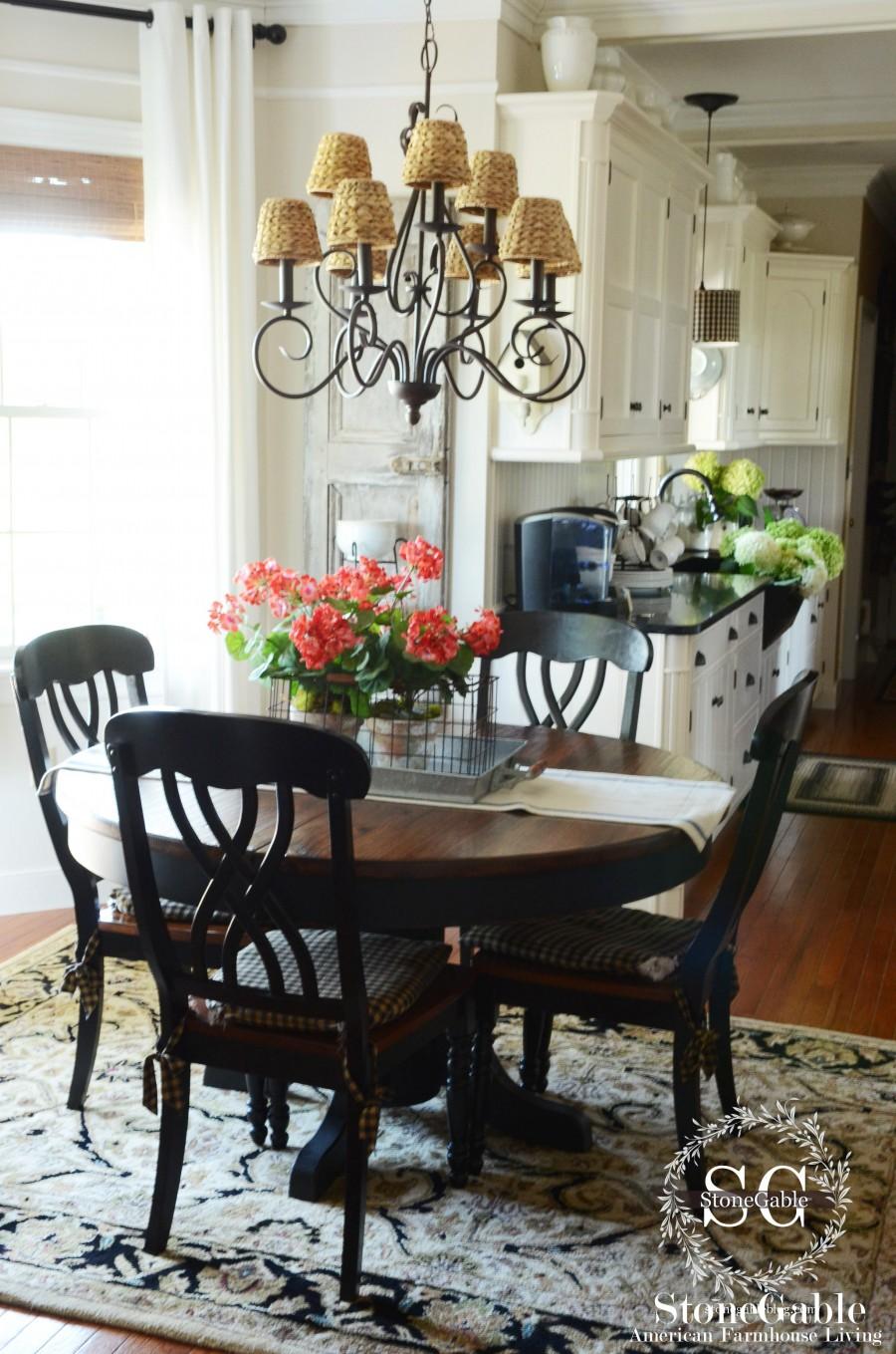 summer-kitchen-kitchen table-stonegableblog.com