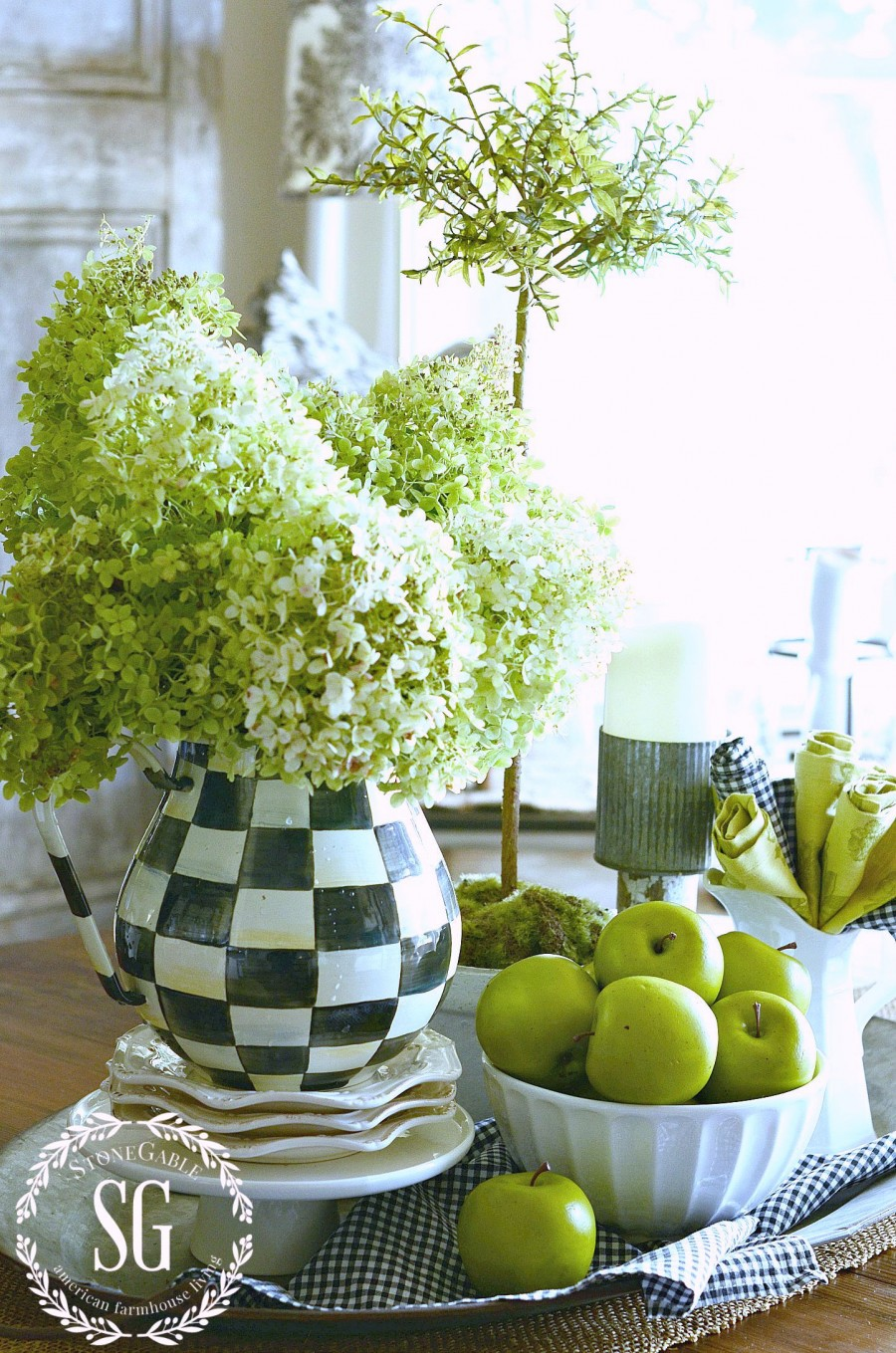 EARLY FALL AND GREEN APPLES-perfect for fall-stonegableblog.com