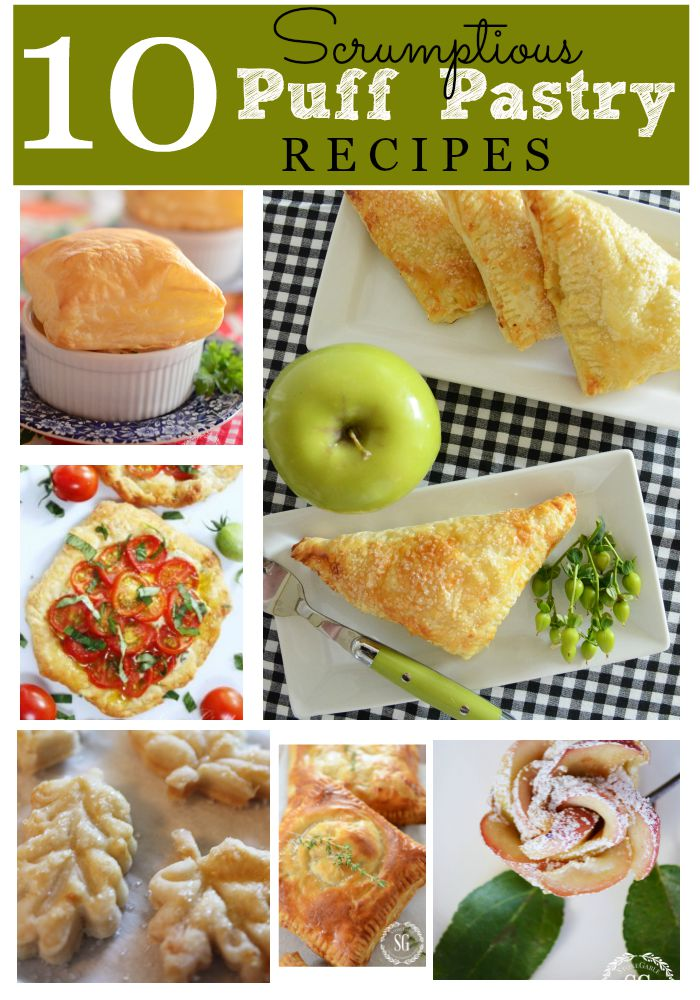 10 SCRUMPTIOUS PUFF PASTRY RECIPES-Delicious and crispy puff pastry works it