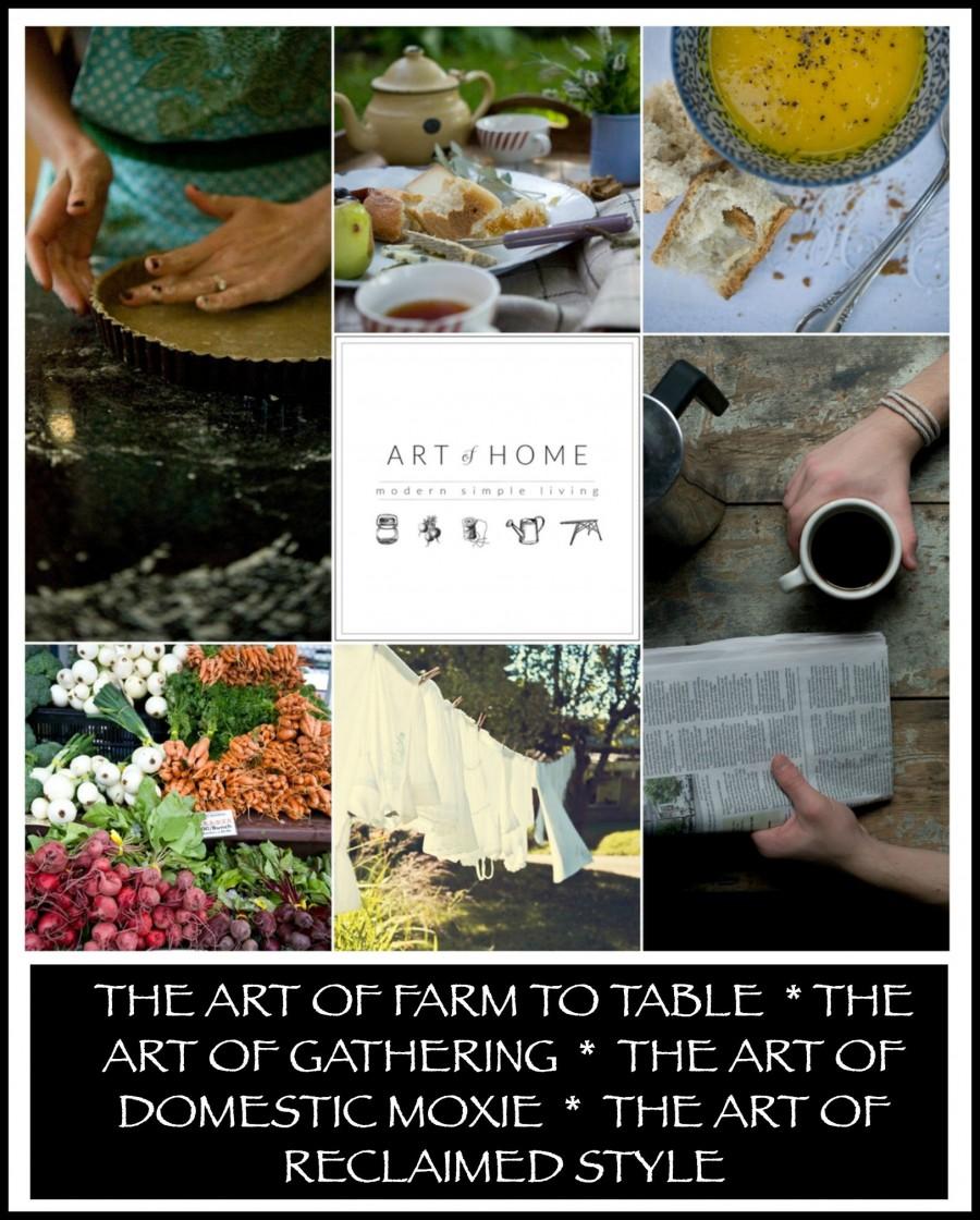 THE ART OF HOME-A course on artisinal living-stonegableblog.com