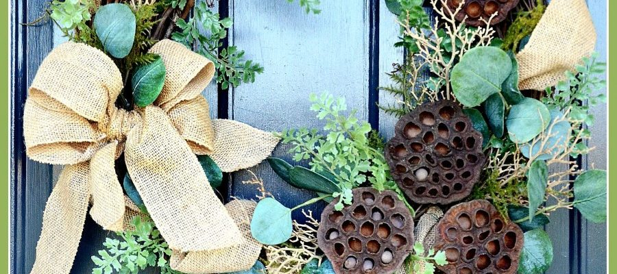 """TIPS FOR KEEPING YOUR WREATH """"FRONT DOOR PERFECT"""" and A GORGEOUS WREATH GIVEAWAY!"""