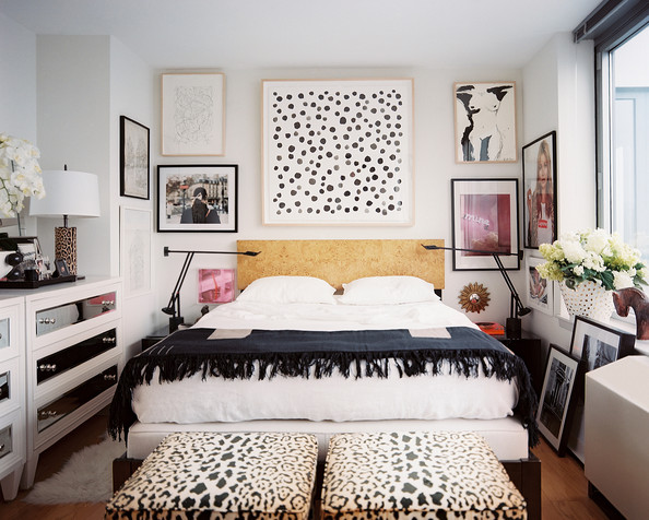 HOW TO KOW OUR STYLE- a gorgeous eclectic bedroom from Lonny-stonegableblog.com