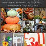 FAB FALL DECOR FROM 7 BRILLIANT BLOGGERS! Get inspiration for fall decorating from 7 decor bloggers-stonegableblog.com