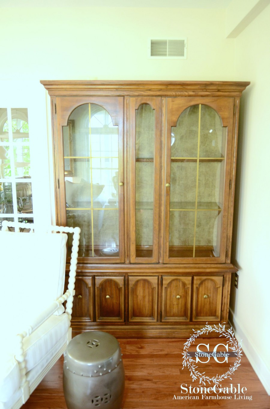 Living Room Hutch : THE EVOLUTION OF A LIVING ROOM
