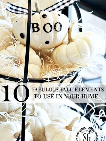 10 FABULOUS FALL ELEMENTS TO USE IN YOUR HOME