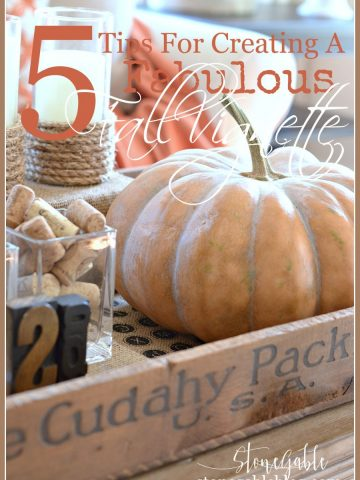 5 TIPS FOR CREATING A FABULOUS FALL CENTERPIECE