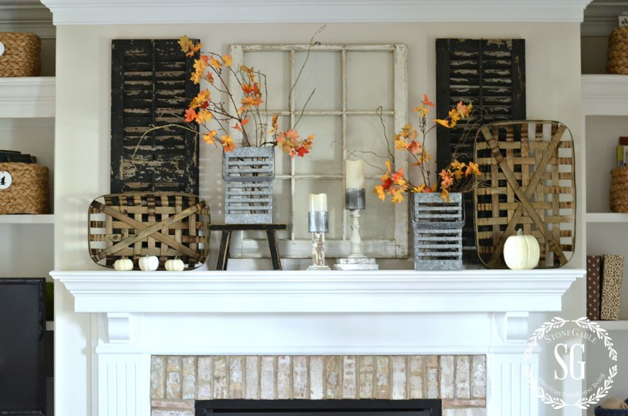 fall kitchen table centerpiece stonegable.htm fall home tour stonegable  fall home tour stonegable
