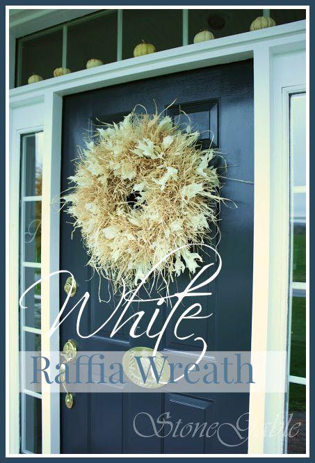 FAB FALL WREATHS- Years of fall wreaths and diy's-stonegableblog.com