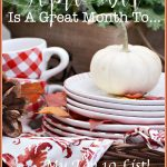 SEPTEMBER IS A GREAT MONTH TO… MY TOP 10!