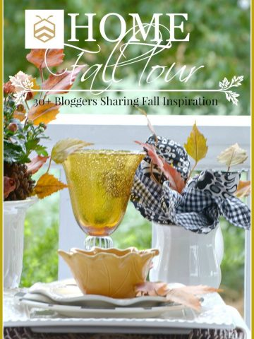 BHOME FALL TOUR… 30 BLOGGERS SHARING FALL INSPIRATION