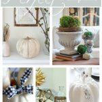 PERFECT PUMPKINS… 5 INSPIRING PUMPKIN DIY'S