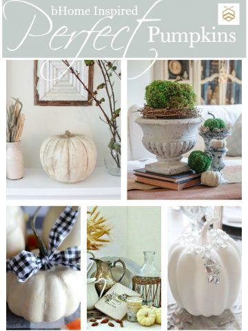 PERFECT PUMPKINS-5 INSPIRING PUMPKIN PROJECTS-stonegableblog.com