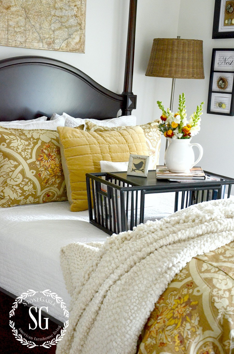 how to get oil out of bedding