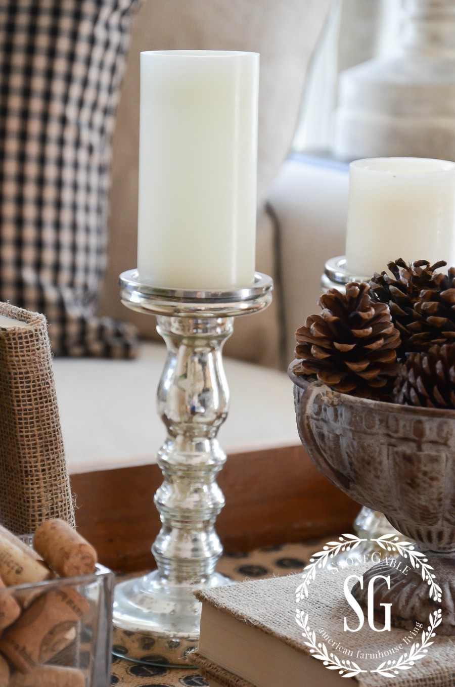 FALL TRANSITIONAL VIGNETTE-A late fall vignette to last until Thanksgiving-stonegableblog