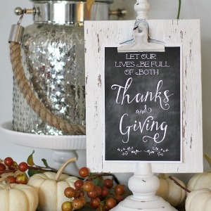 Decorating with Printables 300