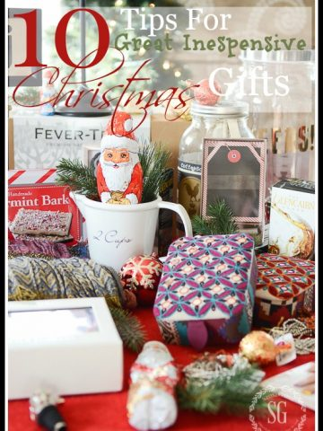 TIPS FOR GREAT INEXPENSIVE CHRISTMAS GIFTS