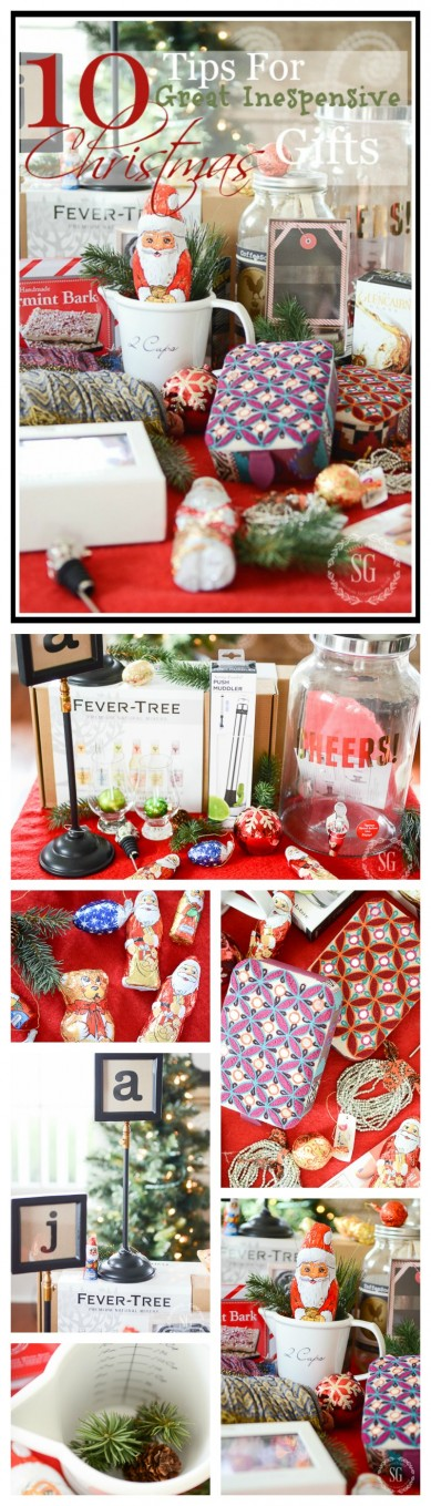 10 TIPS FOR GREAT INEXPENSIVE CHRISTMAS GIFTS - StoneGable